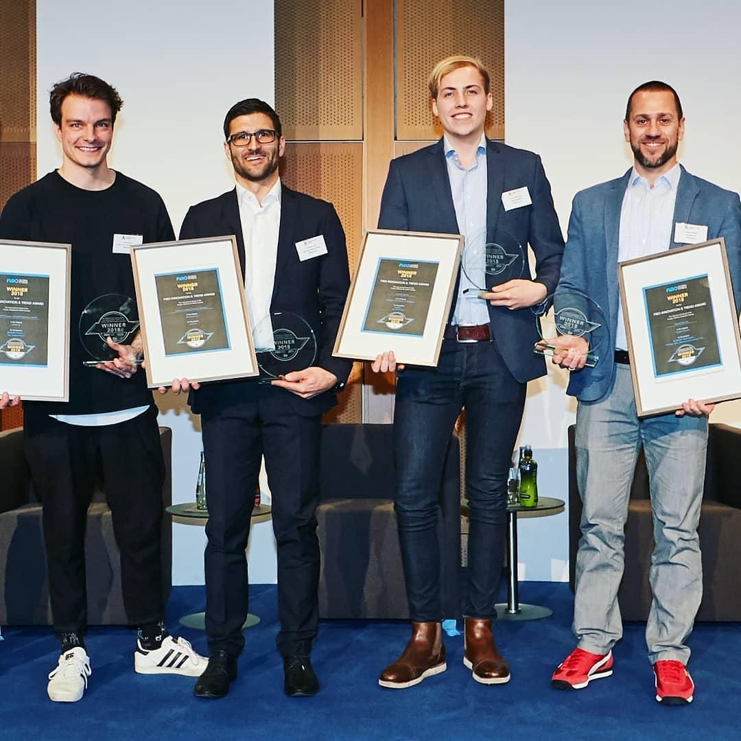FIBO Innovation award winner
